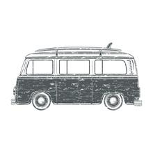 Grunge Camper Van.