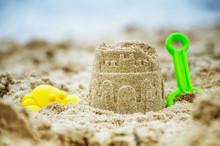 Summer Beach Activities - Sandcastle