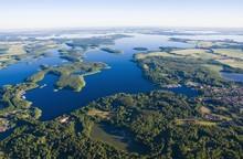Aerial View Of Mazury