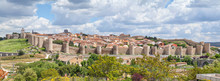 Panorama Of Fortified Medieval...