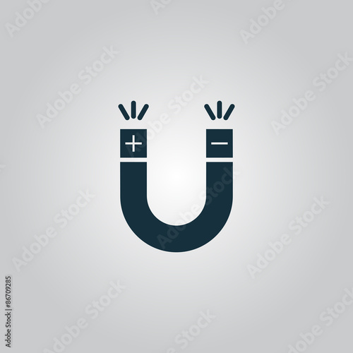 Magnet Symbol - Buy this stock vector and explore similar vectors at ...