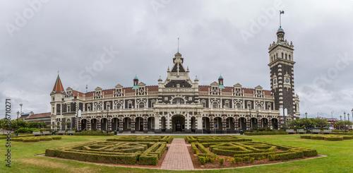 Foto auf AluDibond Bahnhof Dunedin railway station, Dunedin, South island of New Zealand