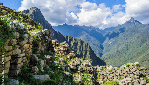 Machu Picchu area of the Andes of Peru