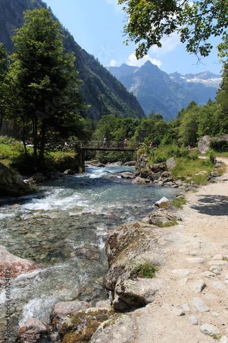 Photo  fiume in val di Mello