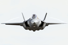 F35 Front View Close Up Flying...