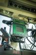 Landtechnik - Plfanzenschutz, Steuerungsamaturen auf dem Traktor