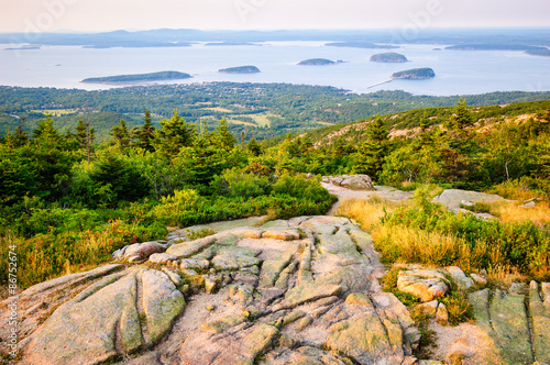 Poster Parc Naturel Islands View at Acadia National Park