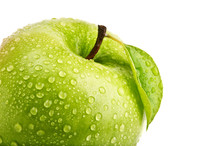 Isolated Green Apple