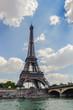 Pont d'Iena (Jena Bridge) and the Eiffel tower, Paris, France