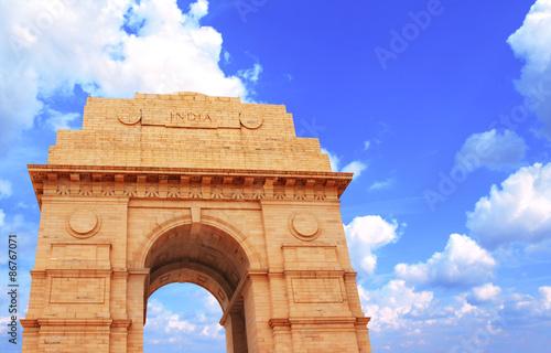 Printed kitchen splashbacks Delhi India Gate memorial in New Delhi, India