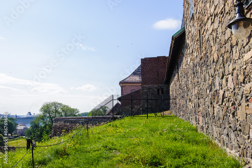 Photo  Part of the Castle of Akershus, Norway