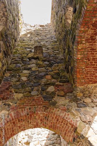 Photo  St. Olofs church in ruins, Sigtuna, Sweden