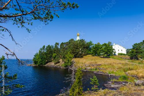 Fotografie, Obraz  Nicholas island of the Valaam (Valamo), an archipelago of Lake Ladoga,Republic of Karelia, Russian Federation