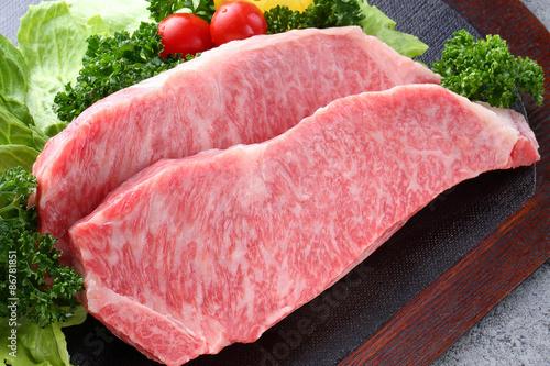 Foto op Aluminium Vlees サーロインステーキ