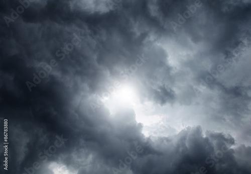 Canvas Prints Heaven Cloudscape Background