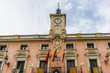 City hall of the Alcala de Henares, UNESCO world heritage, Spain