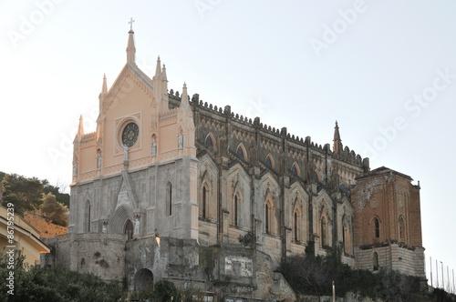 Fototapeta Gaeta, la chiesa di San Francesco