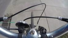 A Timelapse Of Man On A Bike R...