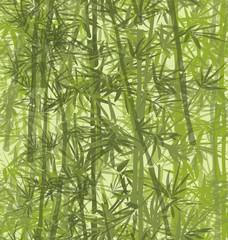 Panel Szklany Podświetlane Bambus Bamboo Pattern