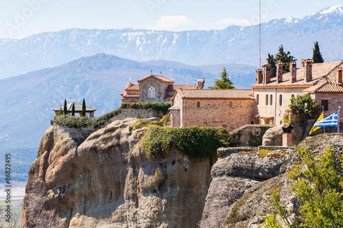 Fotografie, Obraz  Holy Monastery of Saint Stephen in Meteora mountains, Thessaly, Greece