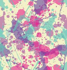 Fototapeta samoprzylepna Splatter Seamless Pattern