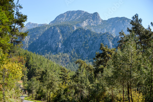 Fototapeta góry natura-gor-taurus-w-turcji
