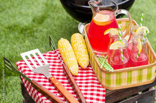Keuken foto achterwand Picknick Summer picnic