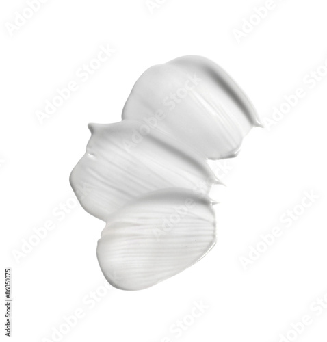 Obraz na plátně  Cosmetic cream isolated on white