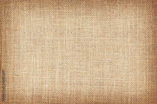 Fotografie, Obraz  Natural sackcloth textured for background