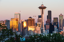 Seattle In The Evening With Sp...