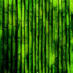Panel Szklany Podświetlane Bambus Bamboo texture