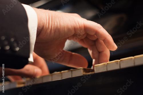 Obraz na plátně pianist