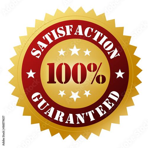 Fotografía  satisfaction guaranteed