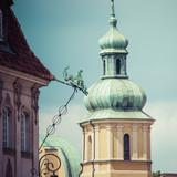 Stare miasto w Warszawie. Zamek Królewski i Col. Sigismunda - 86883880