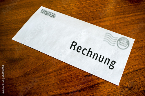 Brief Rechnung - Buy this stock photo and explore similar images at ...
