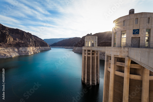 Canvas Prints Dam Hoover Dam
