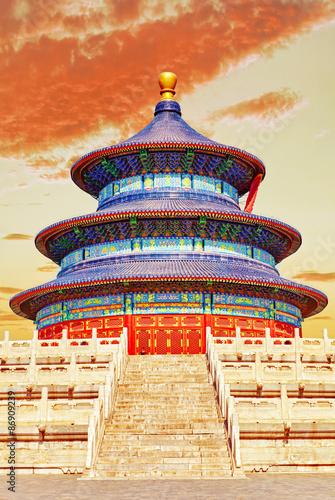 Papiers peints Pékin Wonderful and amazing temple - Temple of Heaven in Beijing.