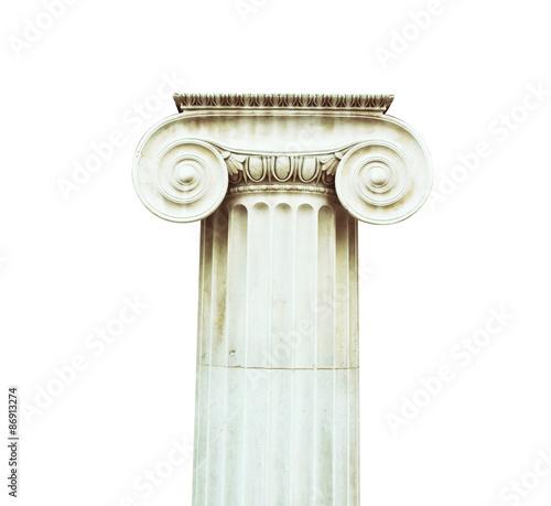 Fotografie, Obraz  Antique column in doric style
