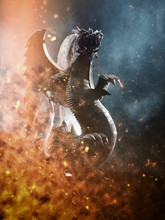 Dragon Ready To Attack