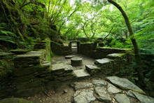 """Ruins Of An Old Mill In The Natural Park """"Fragas Del Eume"""""""
