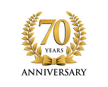 Anniversary Logo Ribbon Wreath...