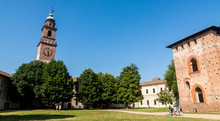 The Bramante Clock Tower In Th...