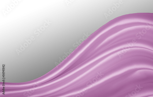 Obraz na plátně Smooth elegant lilac silk or satin texture can use as background