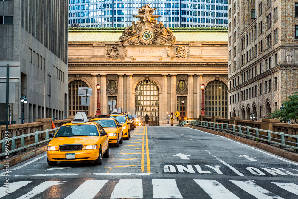 Fototapety, obrazy: Grand Central Terminal as seen from the Park Avenue viaduct