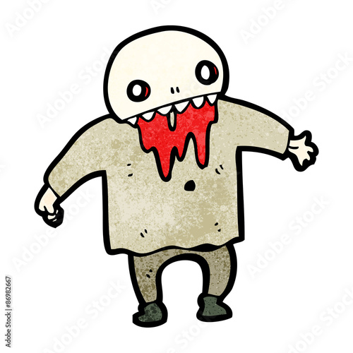 spooky halloween ghoul Slika na platnu