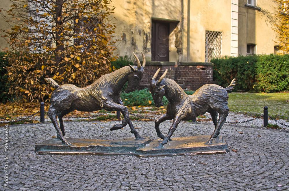 Fototapety, obrazy: Koziołki - symbol Poznania