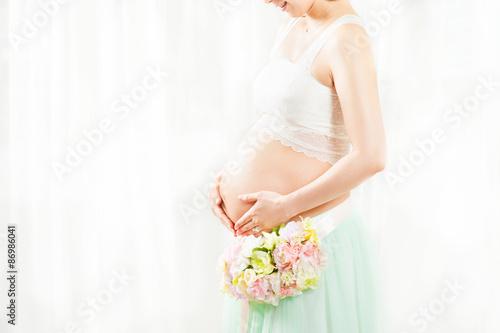 Fotografía  妊娠している美しい日本人女性 マタニティフォト