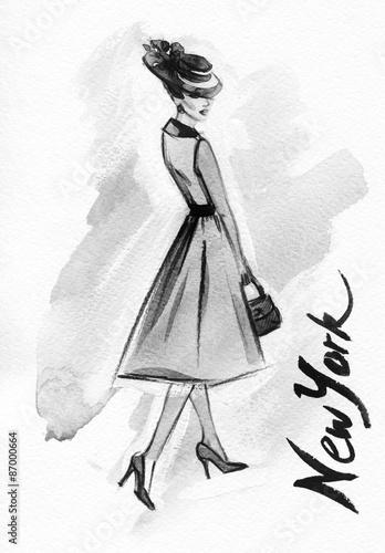 kobieta-z-eleganckiej-sukni-fashion-tla