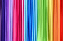 Rainbow Abctract Line Texture