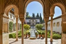 Palacio De Generalife , Alhambra, Granada, Spain